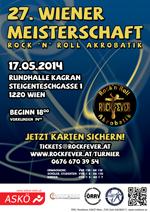 Plakat 27. Wiener Meisterschaft