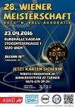 Plakat 28. Wiener Meisterschaft